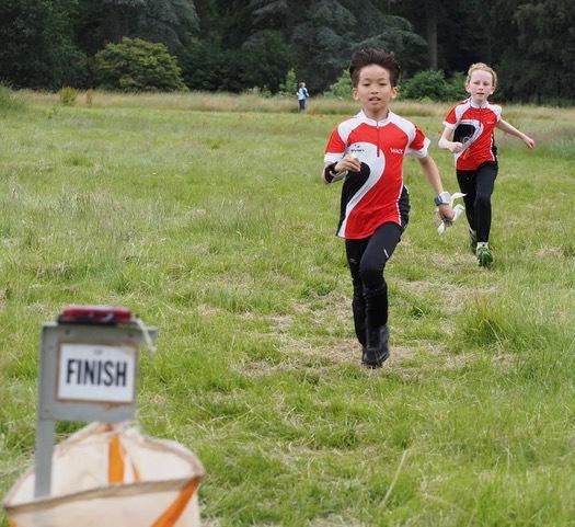 WAOC juniors sprint to the finish