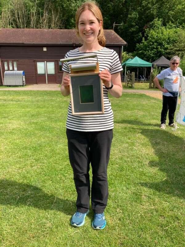 The Jabberwaoc trophy went to Helen Bickle